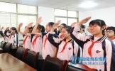青神中学景德学校举行党团组织活动