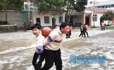 东坡区五峰小学举行2020年冬季运动会