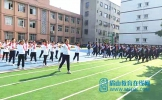 东坡区悦兴小学开展春季校园广播体操比赛